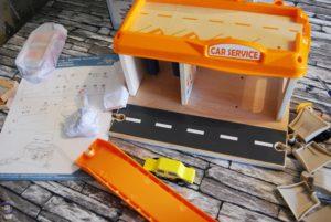 Spielzeug-Tankstelle aus Holz Kinder Spielzeug Amazon 02