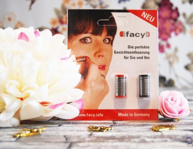 Facy Gesichtsepilierer Gesichtsenthaarung 01
