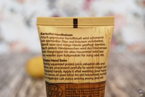 Styx Naturkosmetik Kartoffel Handbalsam 03