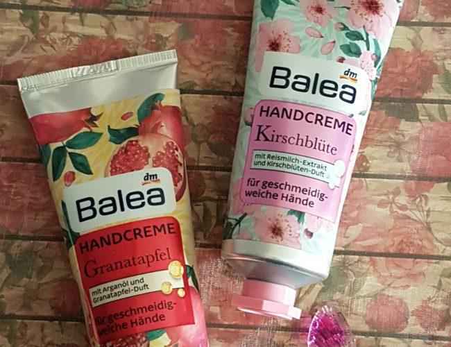 Balea Kirschblüte und Granatapfel Handcreme 01