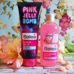 Pink Jelly Bomb und Superpower Dusche – Neue Girlpower von Balea