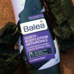 Ruhrpott-Feeling unter der Dusche – Balea Bodylotion mit Aktivkohle