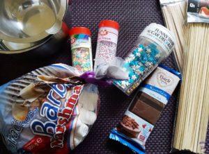 Partysnack mit Marshmallow DIY 09