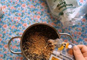 Vogelfutter selber machen DIY Tutorial Anleitung 03