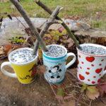 DIY – Vogelfutter in Tassen zum Aufhängen