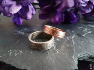Coinsmith Ringe aus Münzen Upcycling handgemacht Kunsthandwerk 03