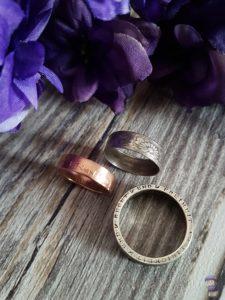 Coinsmith Ringe aus Münzen Upcycling handgemacht Kunsthandwerk 05