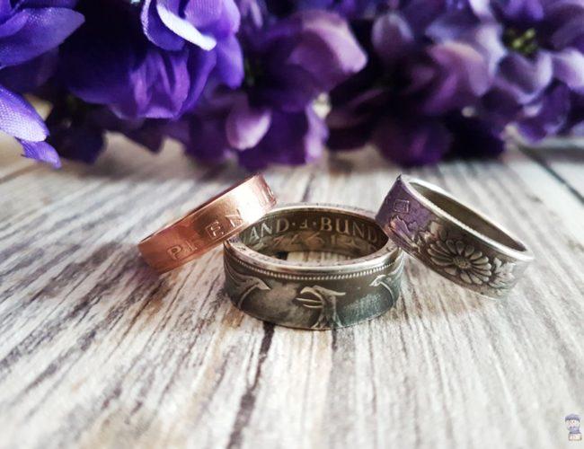 Coinsmith Ringe aus Münzen Upcycling handgemacht Kunsthandwerk 07