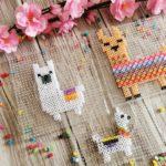 Die schönsten Lama Figuren aus Bügelperlen