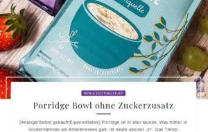 Porridge Beitrag