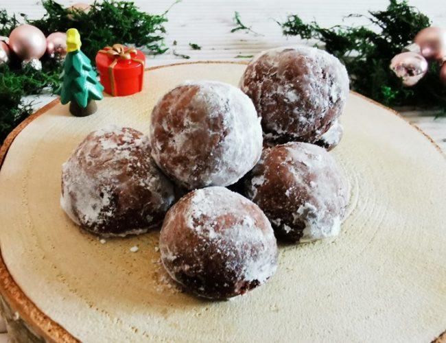 Backen DIY Kakaokugeln schnell und einfach 04