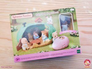 DIY Feuerstelle Sylvanian Families Baby Igelhoehle 01