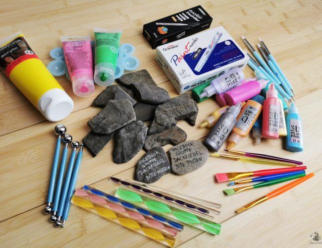 DIY Steine bemalen Tools Werkzeuge 01