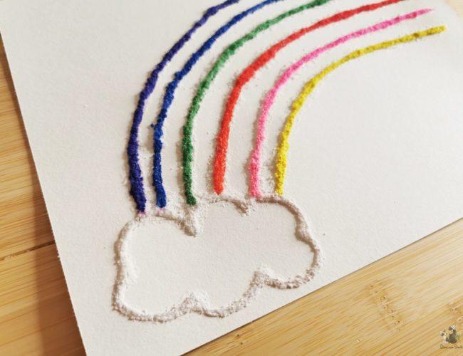 Salzbilder DIY basteln mit Kindern 03