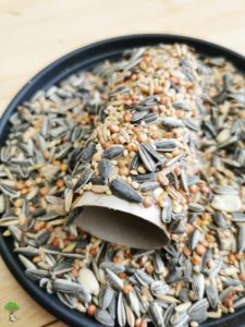 DIY Vogelfutter Rolle Upcycling aus Toilettenpapierrolle 03