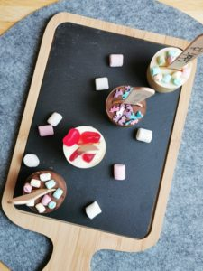 Trinkschokolade DIY Geschenk selber machen 16