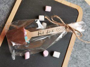 Trinkschokolade DIY Geschenk selber machen 19